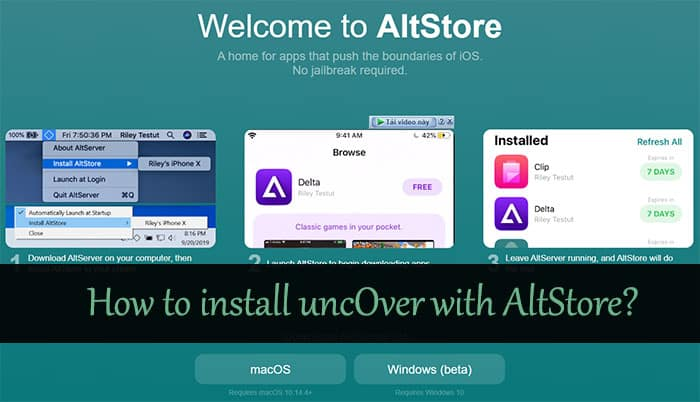 How do I install AltStore?