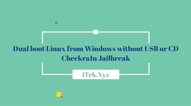 Hướng Dẫn Cài Linux Song Song Windows Không Cần USB/CD